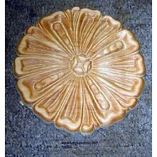 WOOD EMBOSSED APPLIQUE CARVING  5 1/2