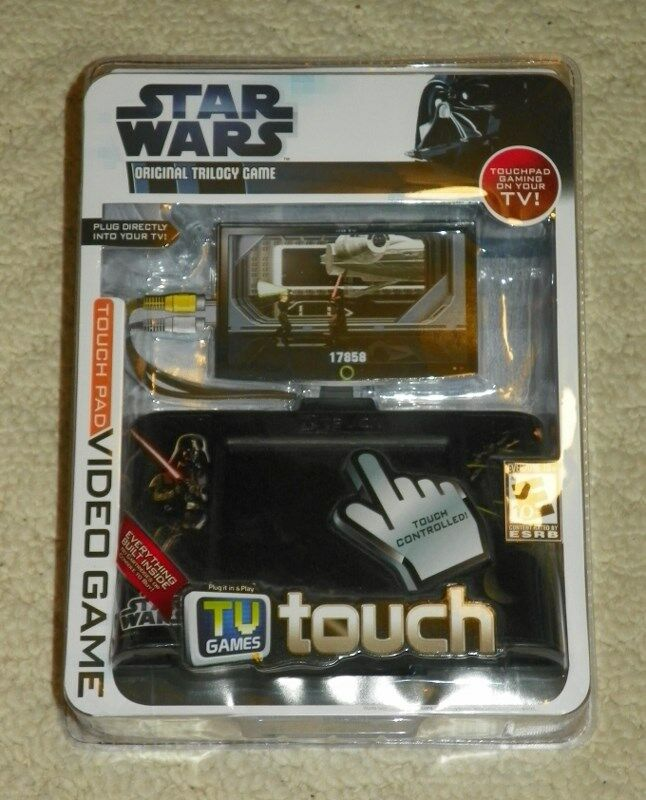 Tv Games Plug Into : Touch pad plug play tv games star wars