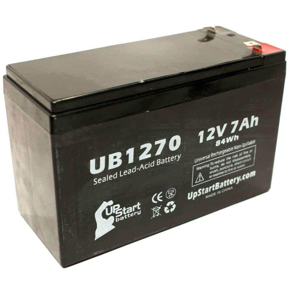 cyberpower cp1500avrlcd battery ub1270 12v 7ah sealed lead. Black Bedroom Furniture Sets. Home Design Ideas