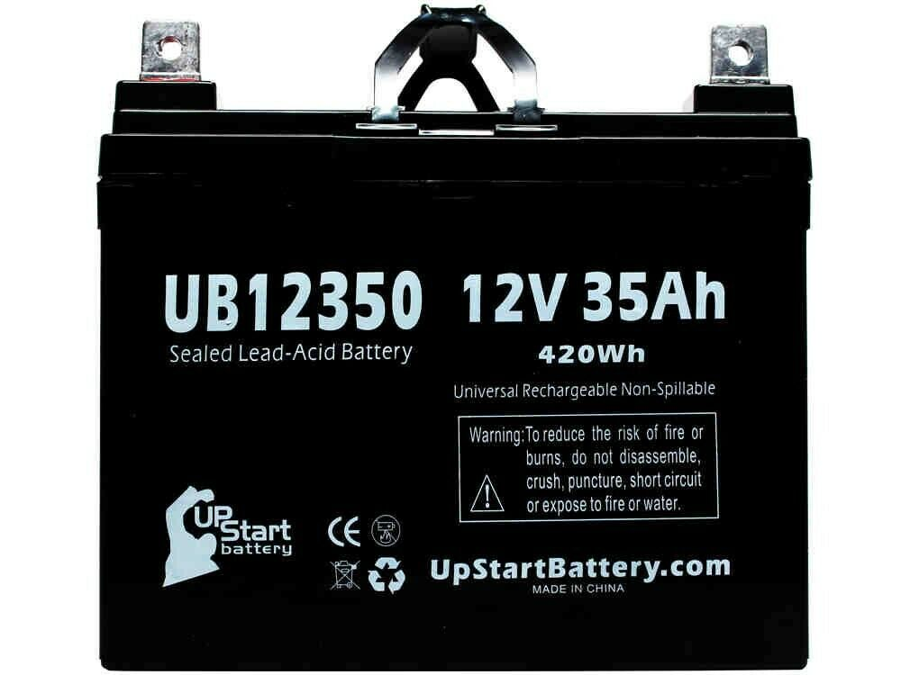 pride mobility scooter battery ub12350 12v 35ah sealed. Black Bedroom Furniture Sets. Home Design Ideas