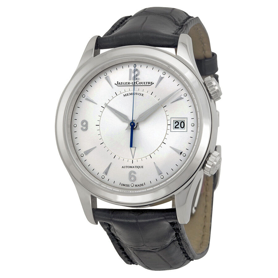 Jaeger lecoultre master memovox automatic silver dial mens watch q1418430 7630007127757 ebay for Lecoultre watches