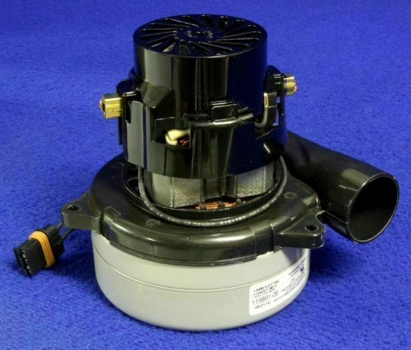 Tennant 1023271 vacuum motor 2 stage 24vdc for t3 t3 for 2 stage vacuum motor