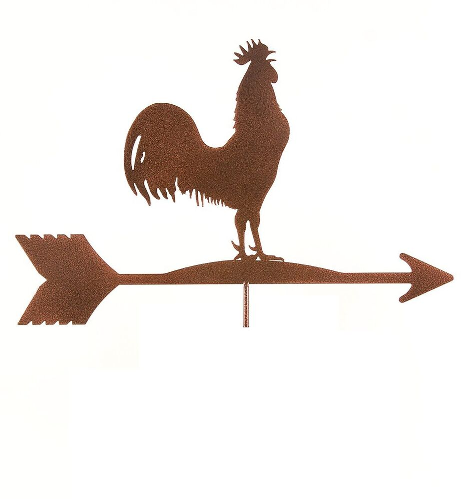 Antique Rooster Weathervane: Vintage Rooster Weathervane TOP ONLY