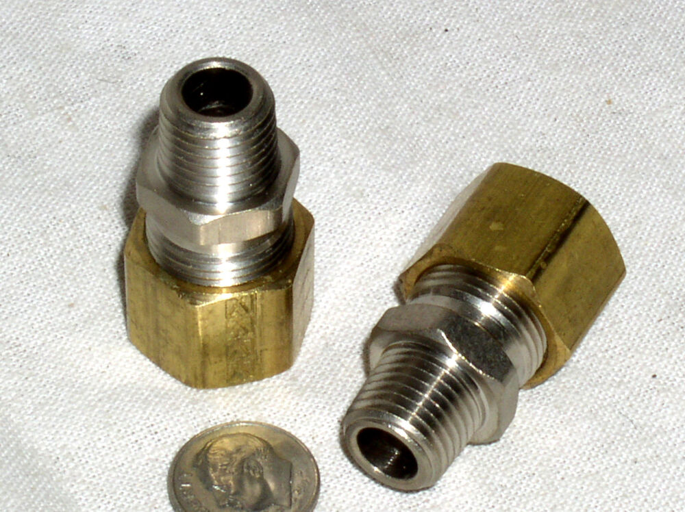 Brass Compression Fittings Tapered Thread, plumbing ...