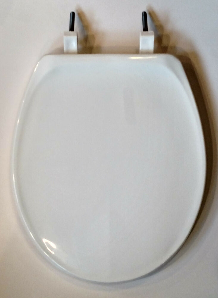 Beneke High Quality Solid Plastic Round Front Toilet Seat