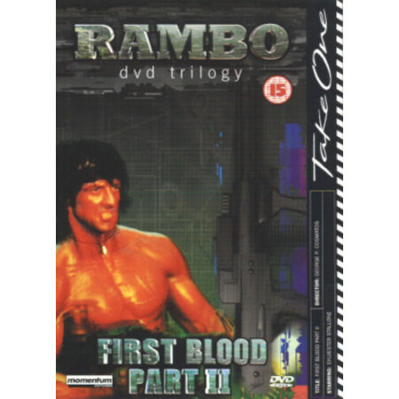 img-Rambo - First Blood: Part II DVD (2002) Sylvester Stallone, Cosmatos (DIR) cert
