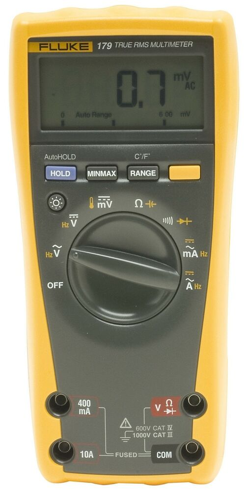 Fluke Digital Voltmeter : Fluke digital multimeter ebay