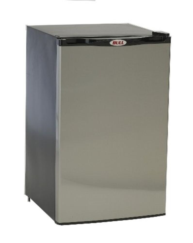 Bull refrigerator stainless steel front panel