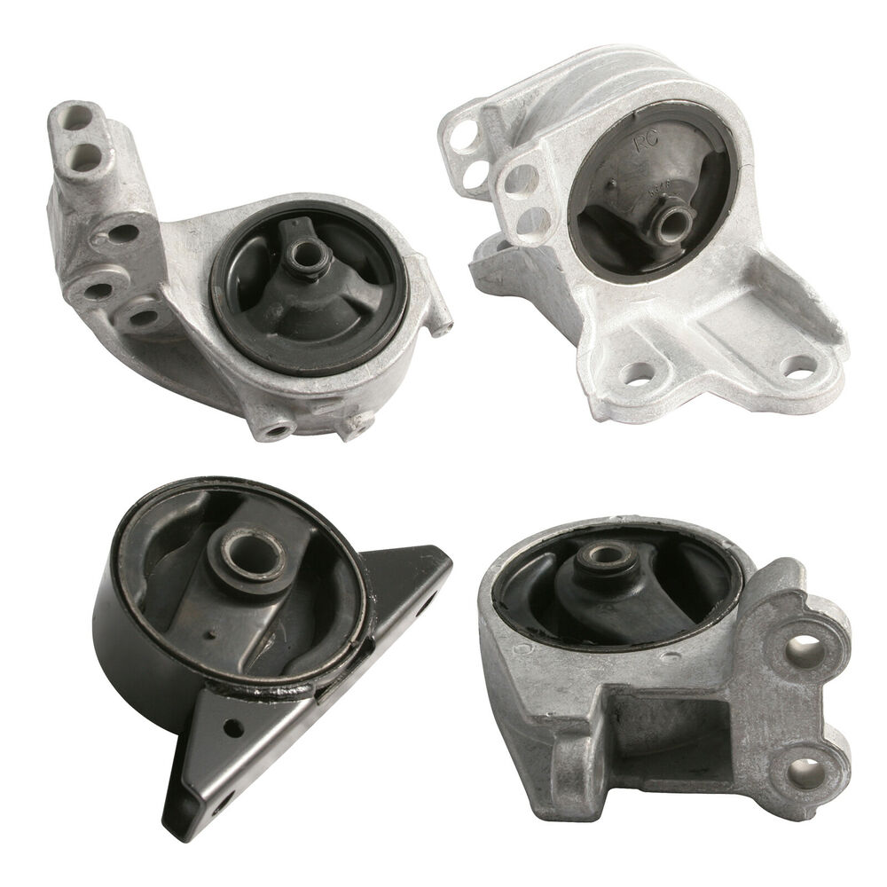 4pc Set 00 05 Mitsubishi Eclipse V6 3 0l At Engine Motor Transmission Mounts Ebay