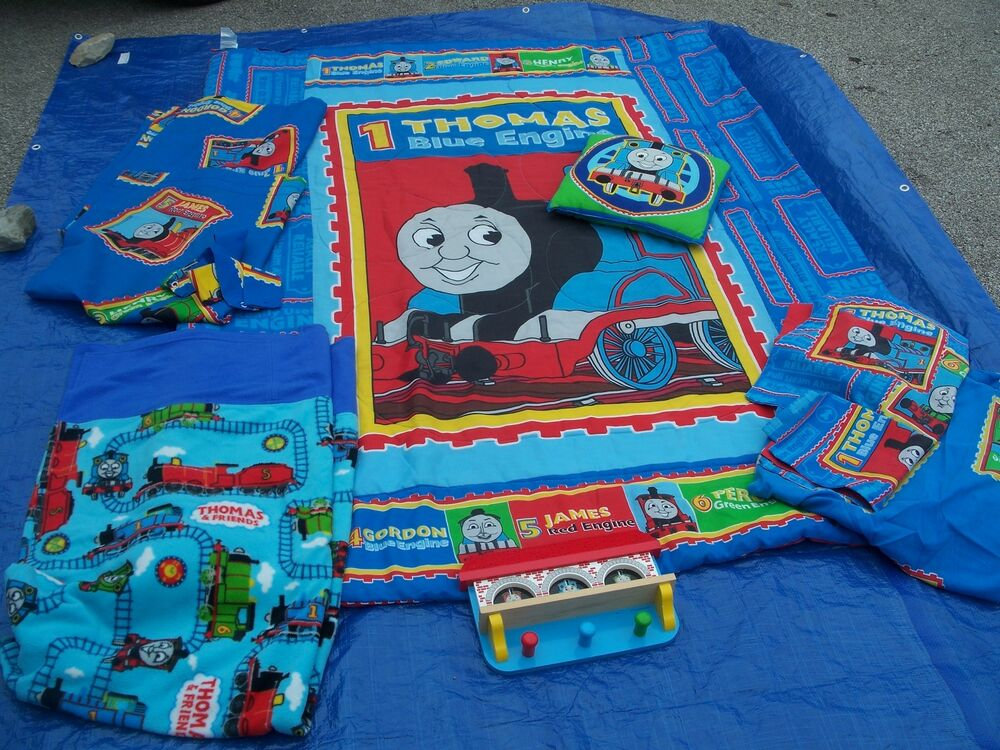 thomas the tank engine train and friends kids bedding set