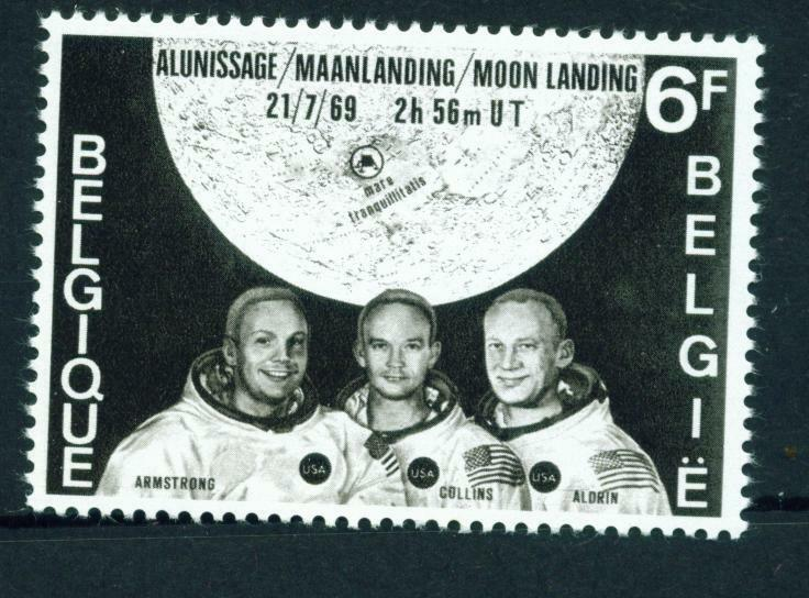 the first space shuttle on moon stamp - photo #37