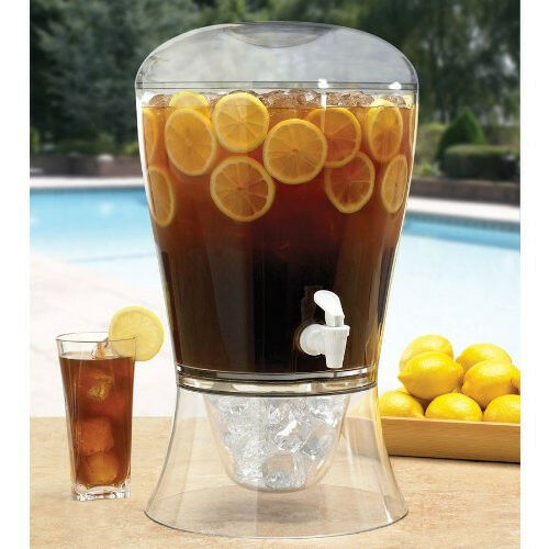 1000 Images About Drink Dispenser Recipes On Pinterest: NEW Creativeware 3-Gallon Unbreakable Beverage Dispenser