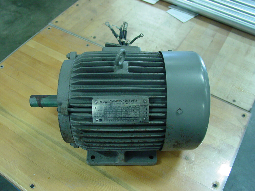 Toshiba World Power Series Motor 5 Hp Induction Motor
