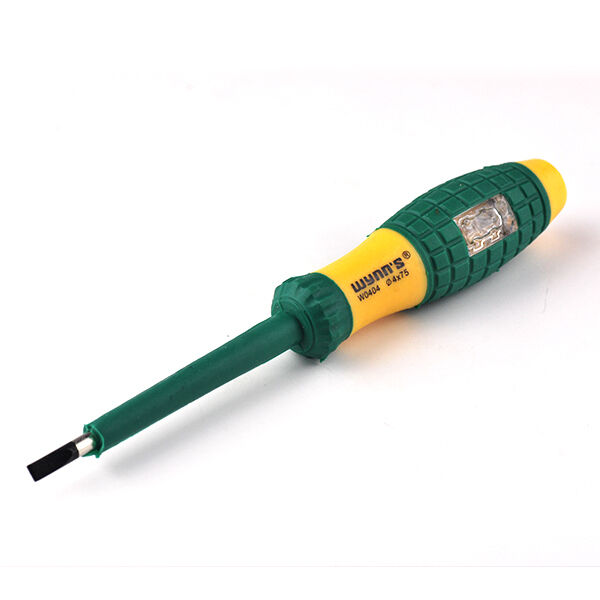 Voltage Tester Screwdriver : Electrical tester pen v screwdriver with voltage test