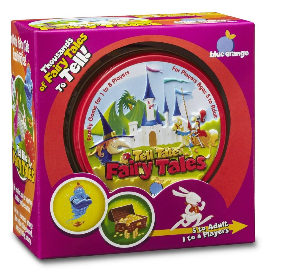 fairy tale story card game