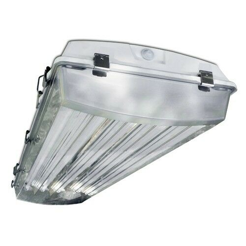 T8 High Bay Fluorescent Light Fixture: Howard Lighting Vaporproof Highbay Fluorescent Fixture 4
