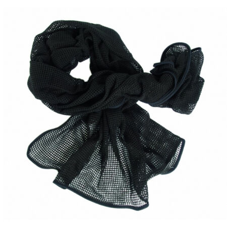 img-Army Military Army Sniper Scrim Veil Net Neck Head Scarf Surplus Shemagh Black