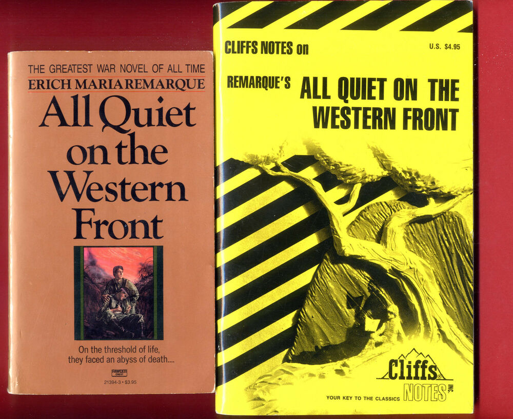 a review of remarques all quiet on the western front Free essay: the ending to erich maria remarque's book, all quiet on the western front is a very convincing and logical ending that connects every end.