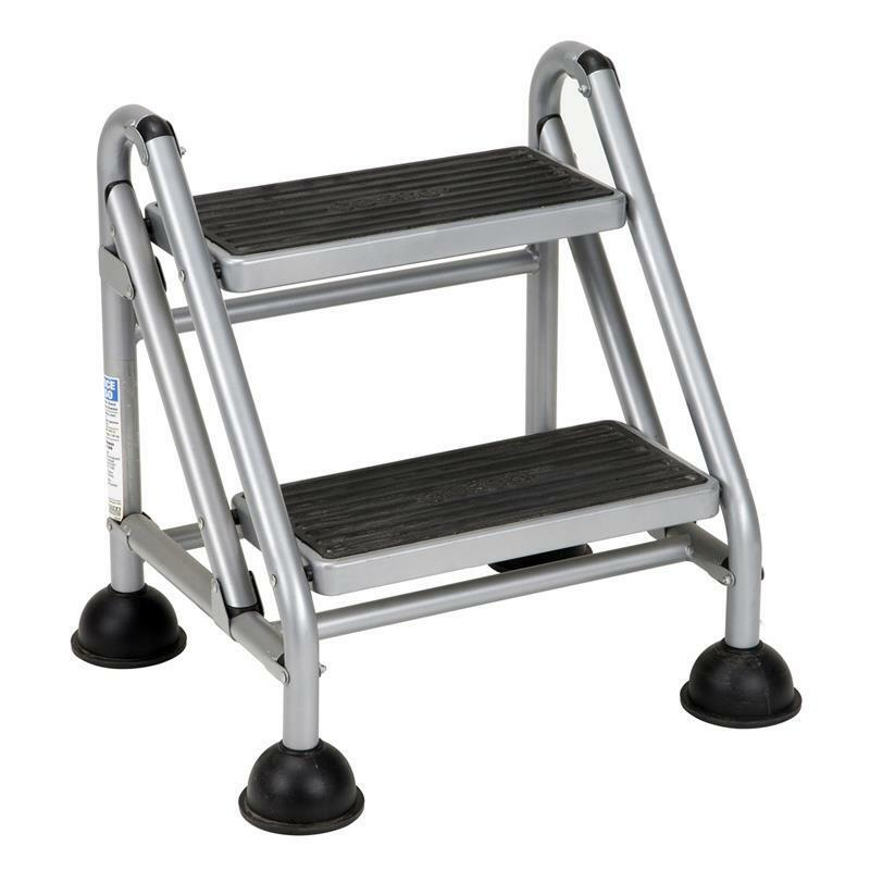 Cosco 2 Step Rolling Step Ladder Commercial Step Stool