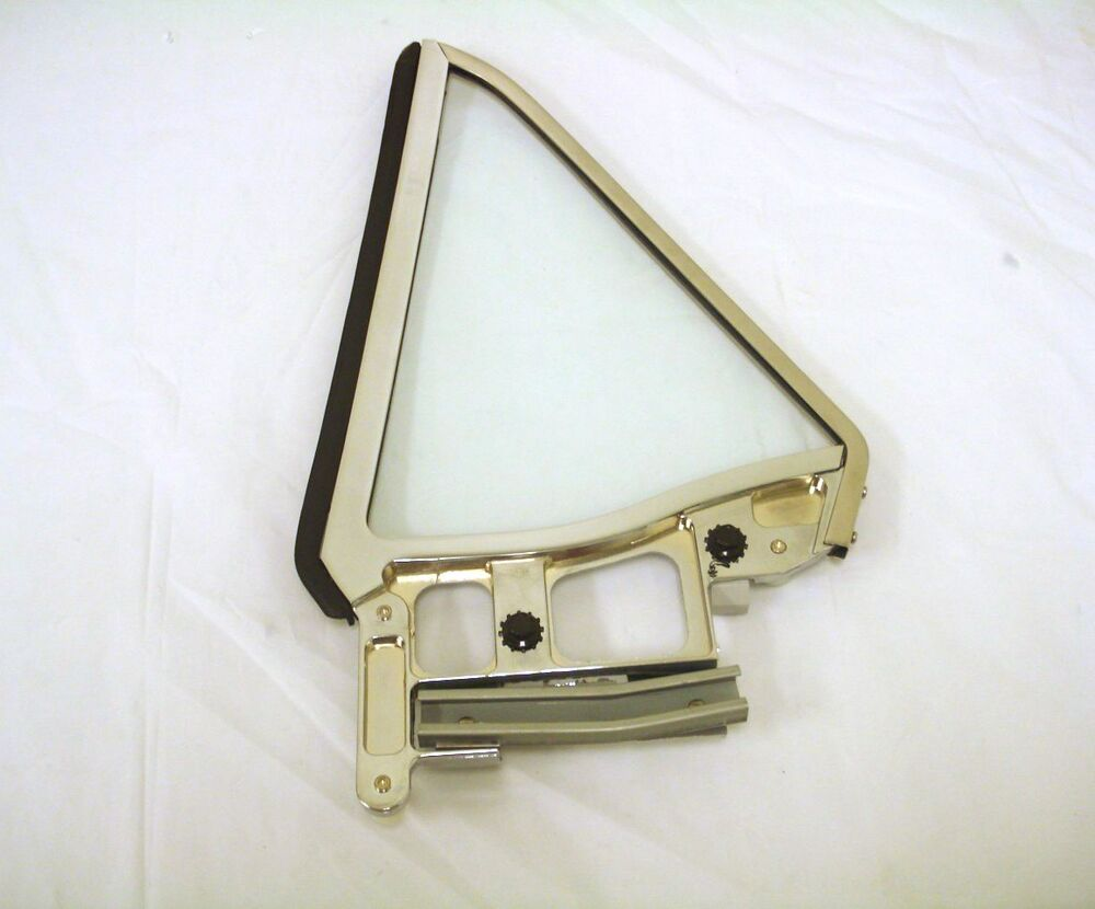 Ford mustang rh quarter vent window assembly clear ebay for 1966 mustang quarter window installation
