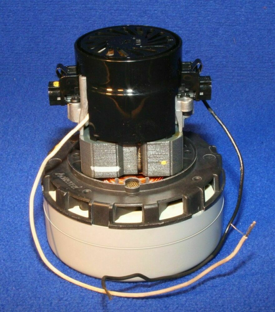 Tennant 130406am vacuum motor 120v 2 stage for typhoon for 2 stage vacuum motor