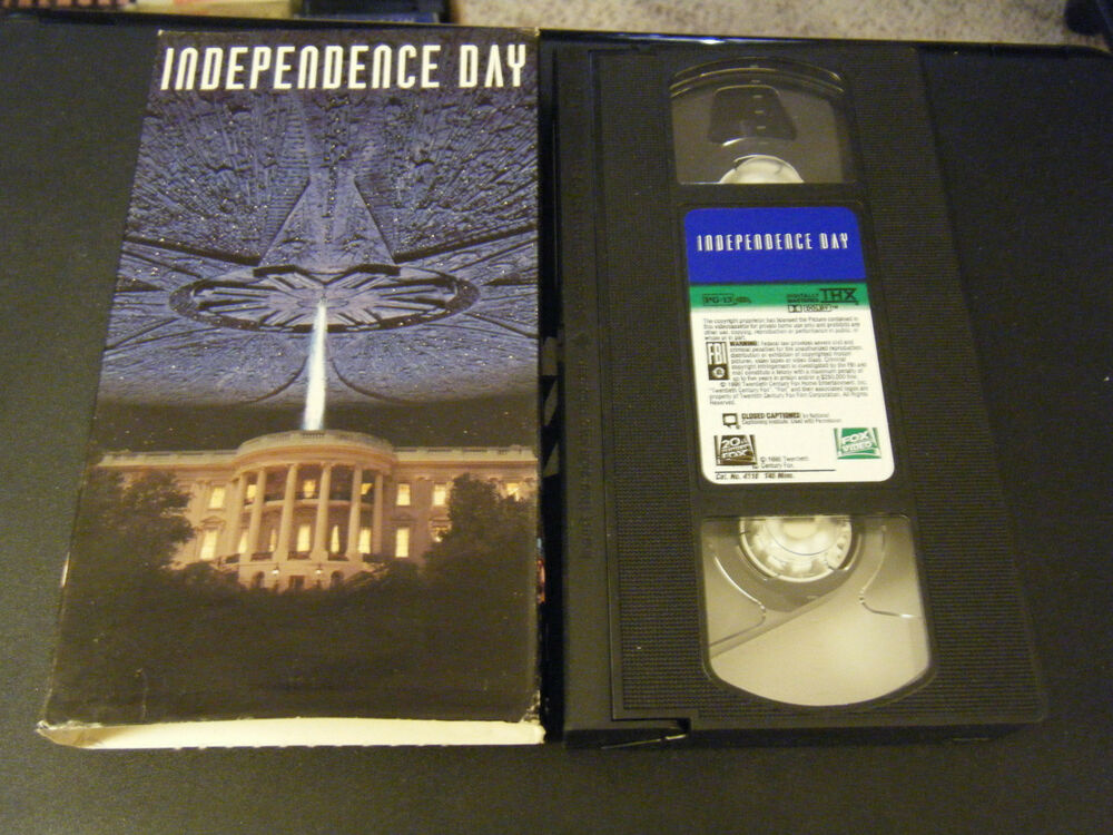 Sell Vhs Tapes >> Independence Day (VHS, 1996, Five Star Collection) | eBay