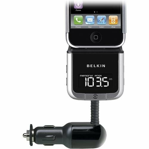 belkin tunebase fm transmitter for ipod iphone 4 iphone. Black Bedroom Furniture Sets. Home Design Ideas