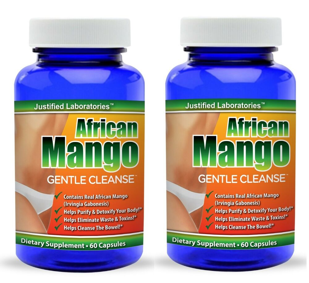 2 X Pure African Mango Cleanse Total Body Detox Amp Colon
