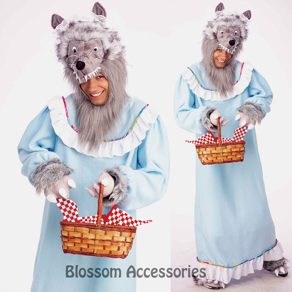 Big bad wolf adult halloween costume