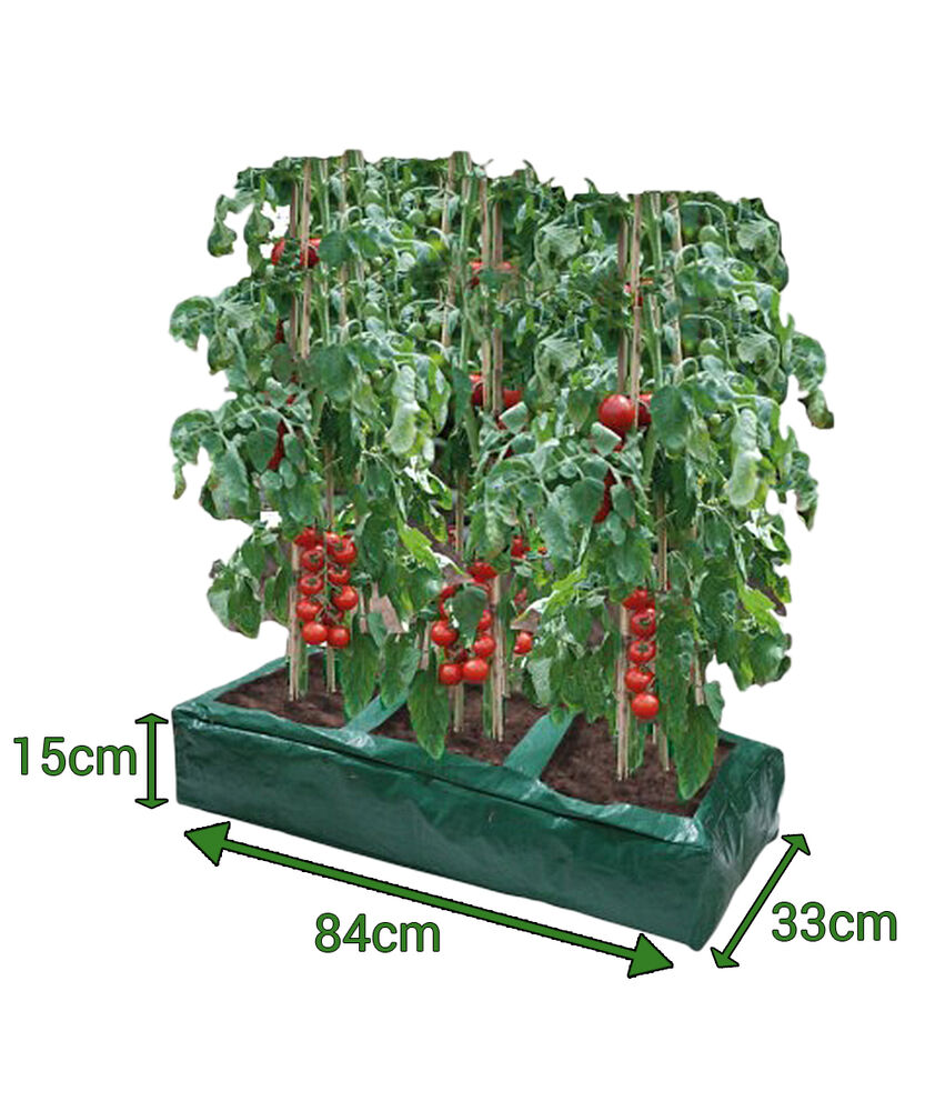 garland grow bag reusable planter tomato peas beans. Black Bedroom Furniture Sets. Home Design Ideas