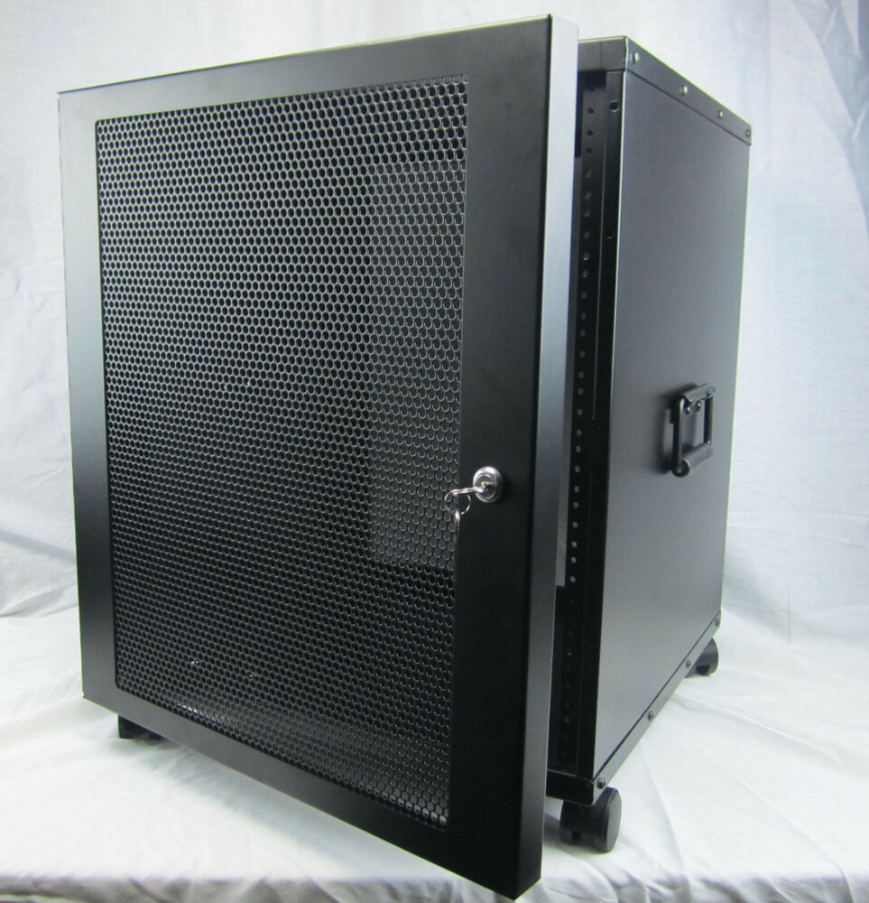 Rack Mount Enclosures : U quot rack mount enclosure penn elcomm r ebay