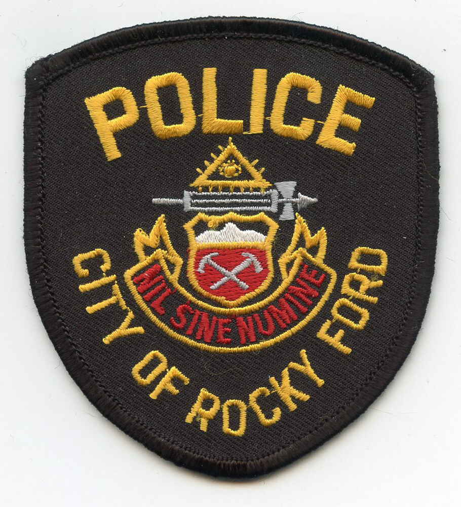 ROCKY FORD COLORADO CO POLICE PATCH