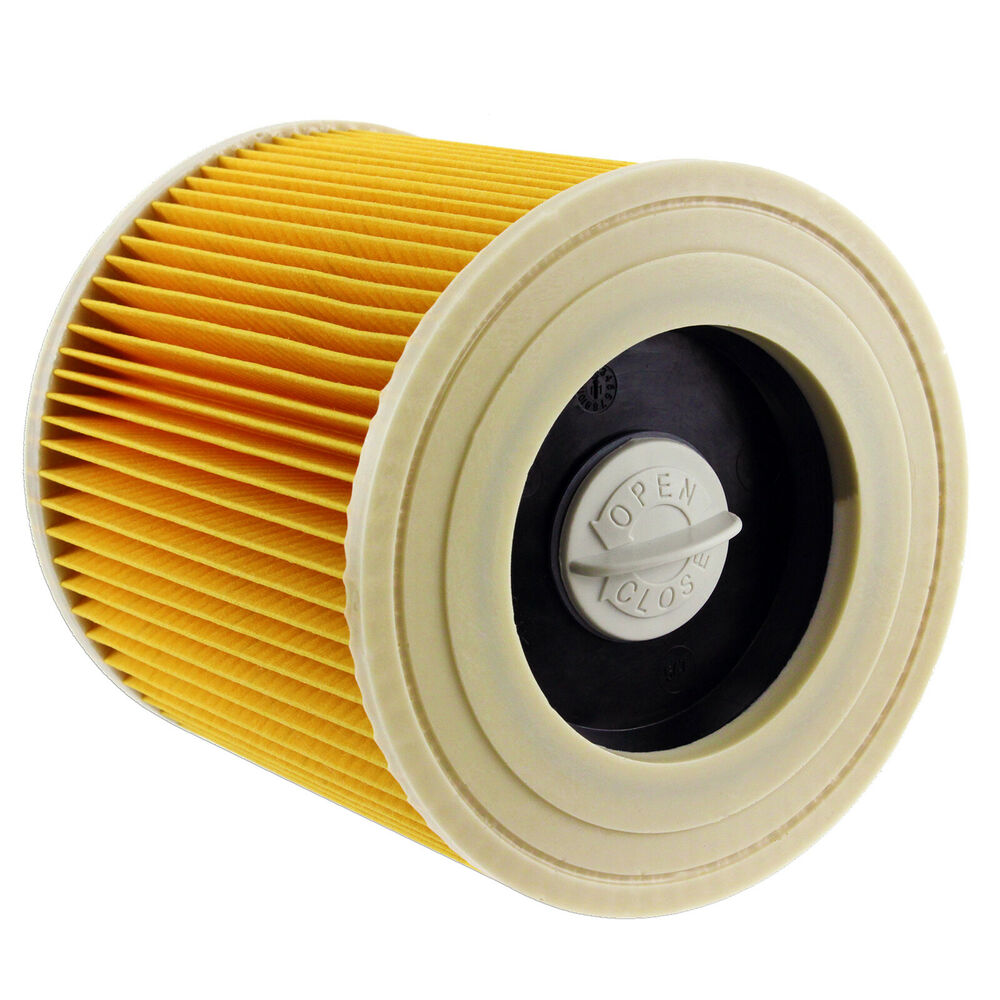 Karcher Vacuum Cleaner Hoover Wet Dry Cartridge Filter