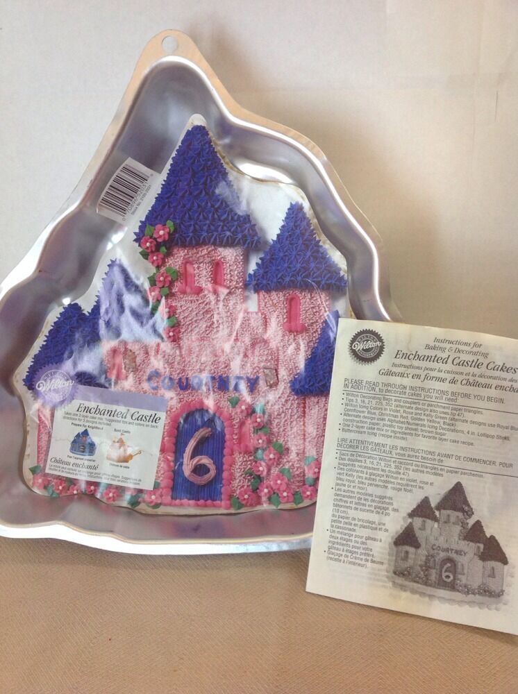 Princess Castle Cake Tin