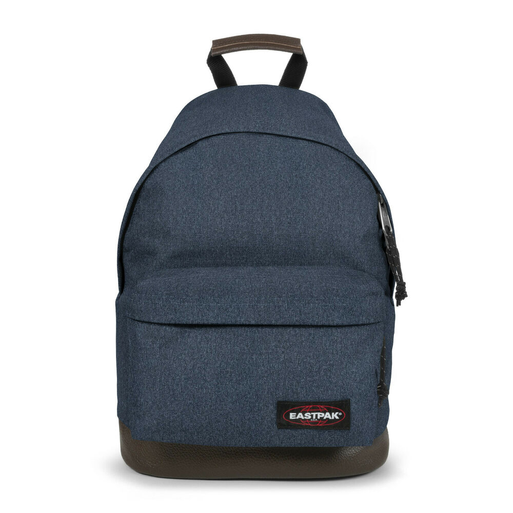 eastpak wyoming double denim schulrucksack rucksack blau. Black Bedroom Furniture Sets. Home Design Ideas
