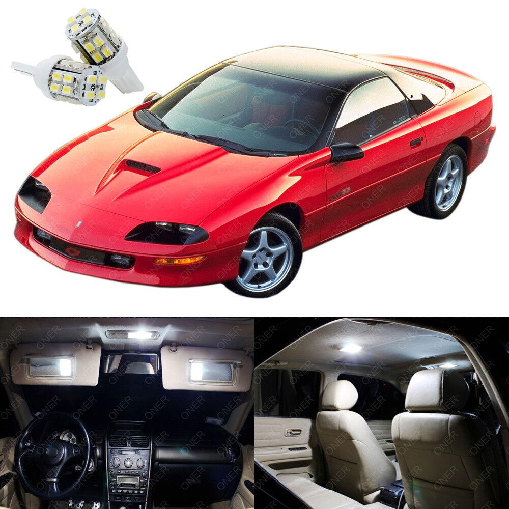 11 X Xenon White Led Interior Light Package For Chevy Camaro Ss 1993 2002 Ebay