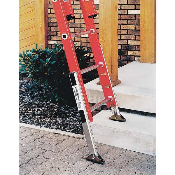 Werner Pk80 2 Extension Ladder Leveler Kit Aluminum Ebay