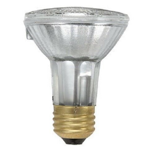 Philips Led 6w 50w Mr16 Medium Base Bright White 3000k: PHILIPS 425207 39W 120V PAR20 Reflector Flood Halogen