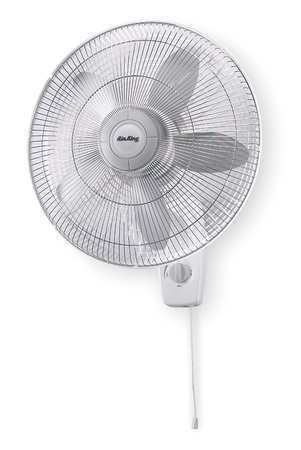 Air King Oscillating Fan : Air king quot oscillating wall mount fan speed ebay
