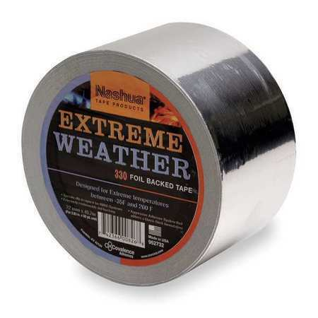 Nashua 330x All Weather Foil Tape 48mm X 46m Silver Ebay