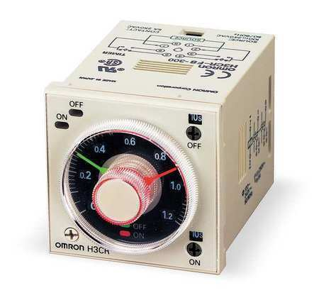 Time Delay Relay 120vac 5a Dpdt Socket Omron H3cr