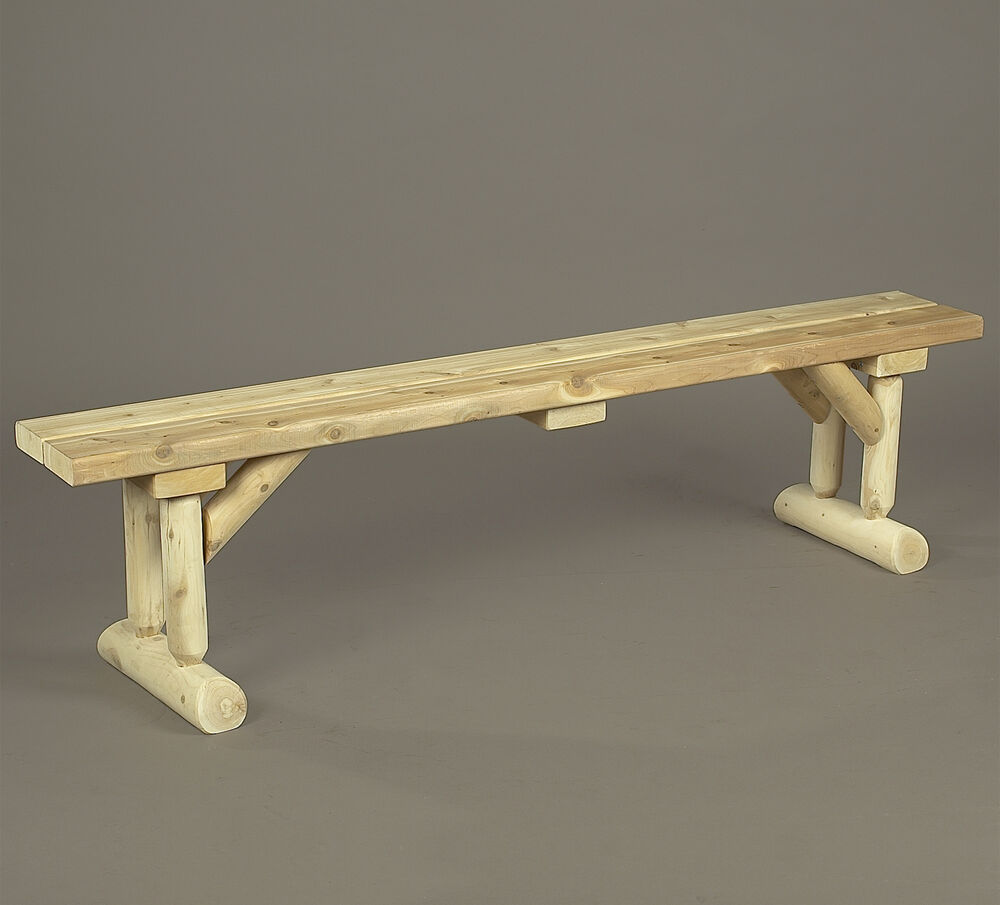 Rustic Cedar Log Indoor Family Dining Table Bench Dining  : s l1000 from www.ebay.com size 1000 x 905 jpeg 53kB