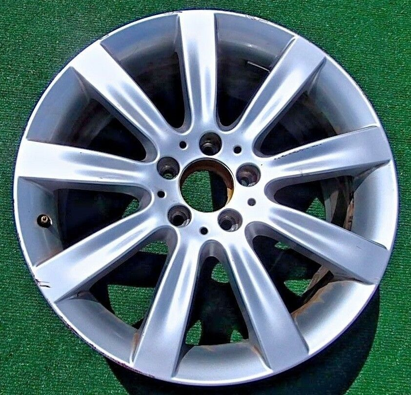 Original genuine oem factory 2007 2008 mercedes benz cl550 for Mercedes benz factory rims