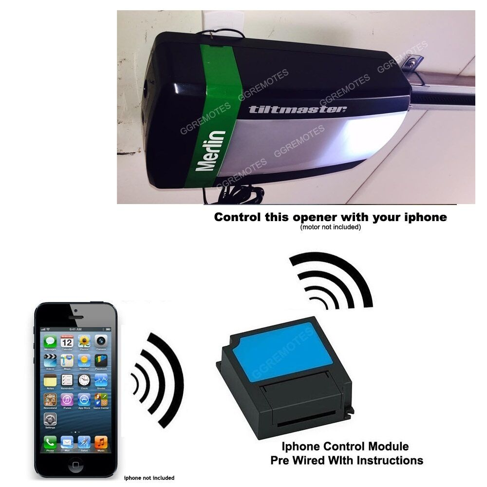 Iphone Remote Control Your Merlin Mt100evo Tiltmaster