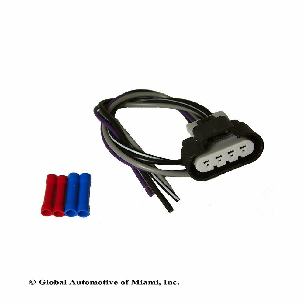 new upgraded gm fuel pump assembly 4 way wiring harness ... 4 wire harness fuel pump gmc grand am 3 4 wire harness diagram #6