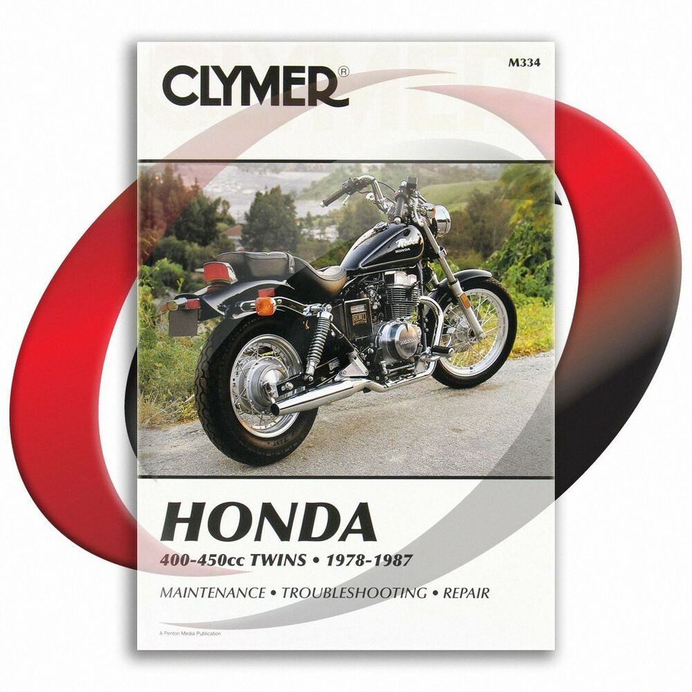 1986-1987 Honda CMX450C Rebel Repair Manual Clymer M334 Service Shop Garage  | eBay