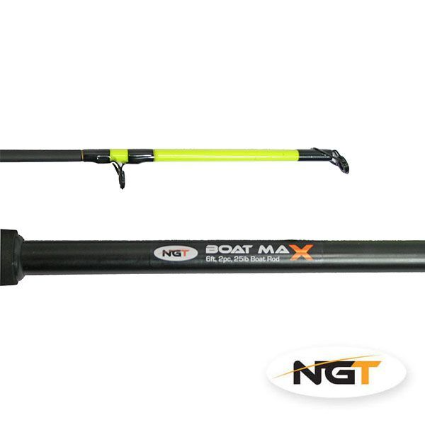 1 x brand new boat fishing rod boat max 6ft 2 piece 25lb for Best fishing pole brands