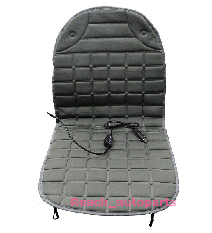 new 12v car heated seat cushion auto hot cover heat heating warmer pad ebay. Black Bedroom Furniture Sets. Home Design Ideas