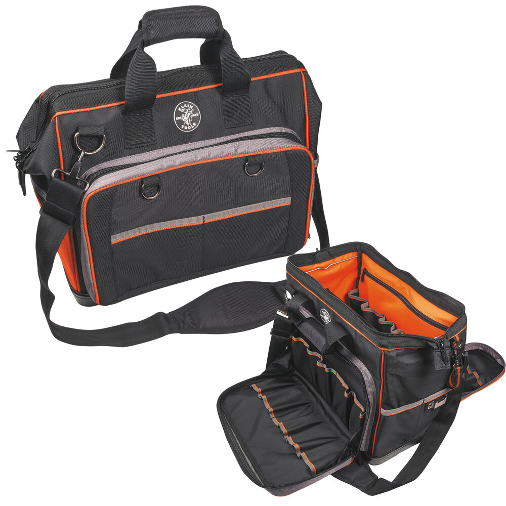 klein tools trademans pro organizer extreme electrician 39 s bag 554171814 ebay. Black Bedroom Furniture Sets. Home Design Ideas