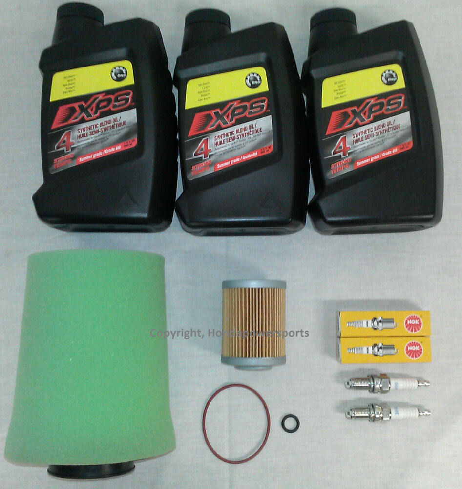 Can Am Renegade 800 >> Can-Am Outlander 500 Full Oil Change Service Kit 2007 2008 2009 2010 2011 2012 | eBay